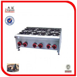 Gas range with 6-burner – GH6