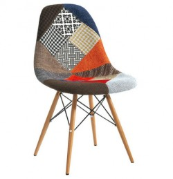 Multi-color fabric EAMES chair