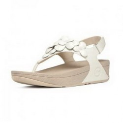 memorial pattern Fitflops Fleur Sandals White Womens children love it