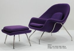 CH5013 womb chair & ottoman-Foshan Master Living Co., Ltd.