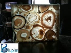 Semi Precious Stone Slabs  Blupier is founded in 2000 in Semi Precious Stone Slabs and Tiles ind ...