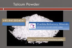 Supplier of Talc powder, Kaolin, Dolomite Pratibha Refractory Minerals provide Talcum Powder. Th ...