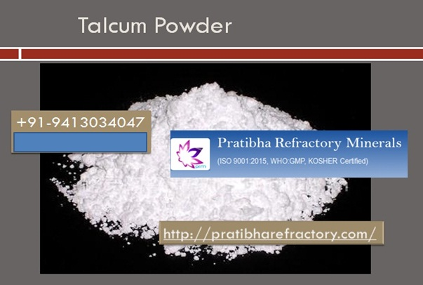 Supplier of Talc powder, Kaolin, Dolomite Pratibha Refractory Minerals provide Talcum Powder. Th ...