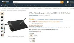https://www.amazon.fr/XP-Pen-Tablette-Graphique-Stylet-Passif/dp/B01F4PGHGQ   XP-Pen G430 4 x 3  ...