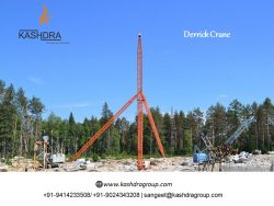 Derrick Crane Manufacturer in India Kashdra Group https://www.kashdragroup.com/  Kashdra Group i ...